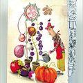 Un cahier de coloriage Marie Desbons