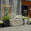 Un jardin bucolique...