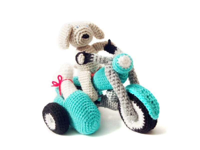 Dog-and-Motorbike-Amigurumi-Pattern-3-