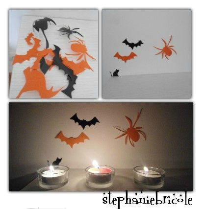 diy tuto sticker mural halloween