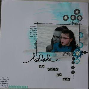 page aquarelle