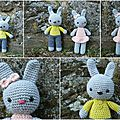 Couple mini lapin