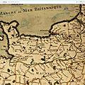 Jaillot, postes de france 1690