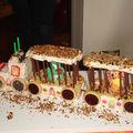 Un gâteau d'anniversaire original.