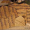 Vieux papiers détournés