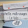Pochette multi-usages [tuto]