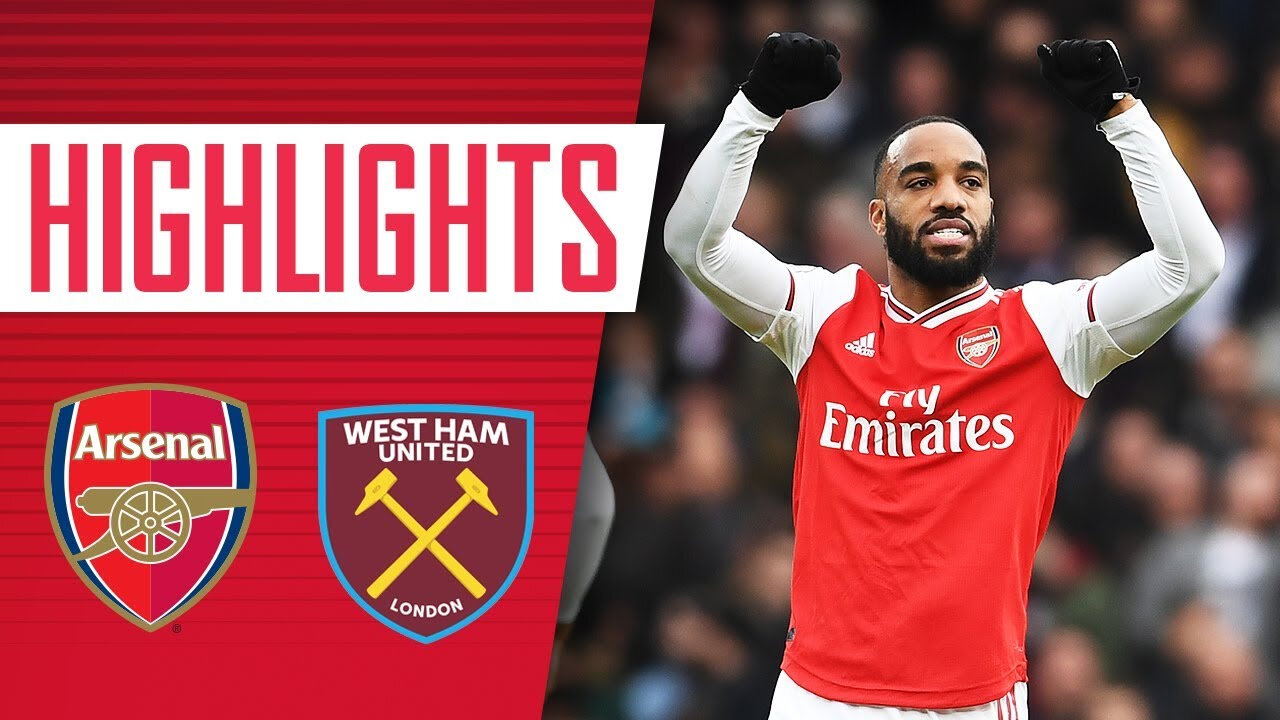 Résumer du match en vidéo Arsenal - West Ham