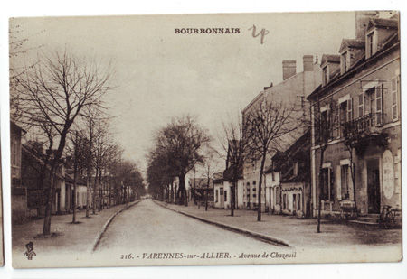 03 - VARENNES SUR ALLIER - Avenue de Chazeuil
