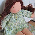 grande poupée waldorf châtain (1)