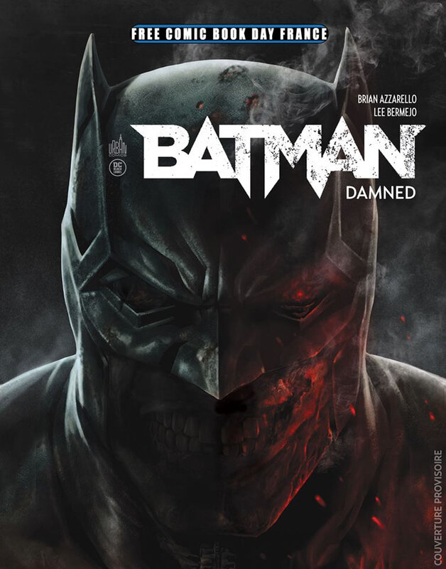 fcbd 19 urban batman damned