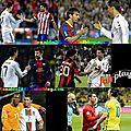 Cristiano ronaldo always after the matches he shakes hands with all the players without distinctions