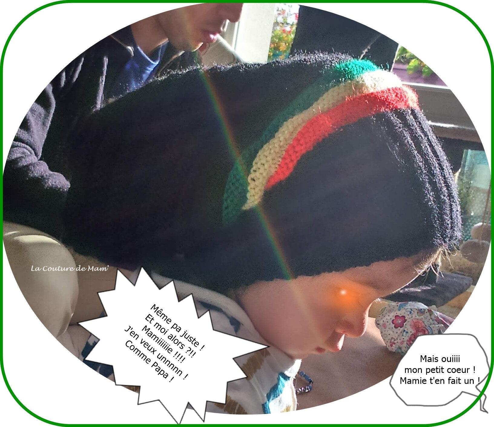 Mon bonnet Rasta et son tuto