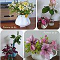Des fleurs a l'interieur...