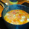 Sauté de porc aux tomates