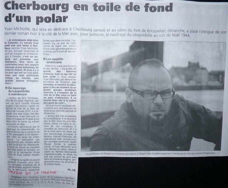 Article Yvan Michotte Presse Manche