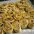 Wraps jambon & pesto