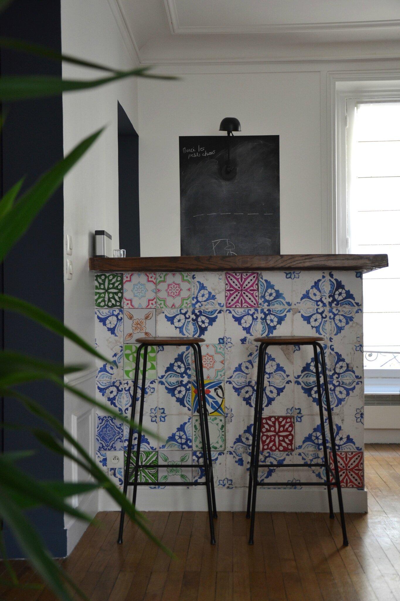 Papier Peint Imitation Carreaux De Ciment Pom Gus