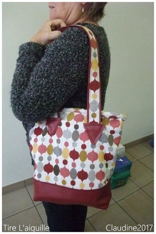 sac pour le voyage Patch
