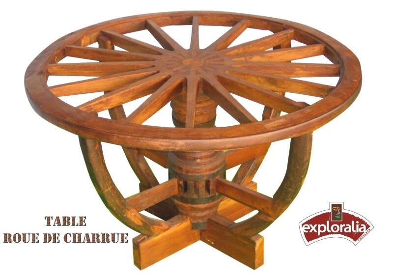 TABLE-ROUE-DE-CHARRUE