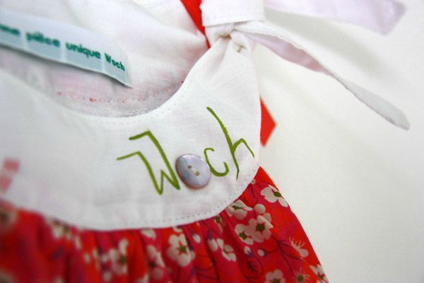 Woch - robe Lily Misti rose 4