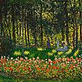 Monet's au jardin, la famille de l'artiste to highlight christie's 20th century evening sale in new york