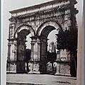 Saintes - Arc de Triomphe - datée 1952