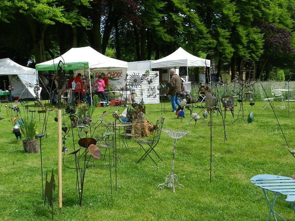 2015 - mai - 16 et 17 - Salon Arts et Jardins de Saint-Romain-de-Colbosc au Château de Gromesnil (51)