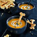 Velouté {potiron, orange & 4 épices} #vegan halloween