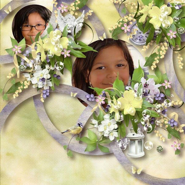Flomelle_Template_page de Ida Passion - Kit de JMCréations -Flower For You