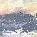 Castallani, La charge du 1er cuirassier à Sedan