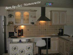 Cuisine Bretagne carrelage et mûret en pierre 20 et 22 mars 2013 026
