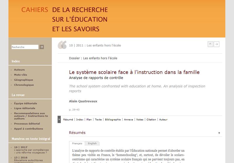 Article Alain Quatrevaux