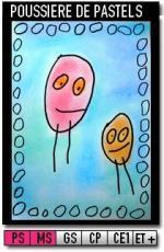 207-Poussière de pastels