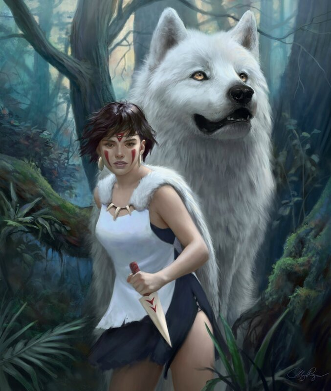 princess_mononoke_by_adelenta-d61l8v1