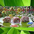 Roulé de jambon à la truffe d'été