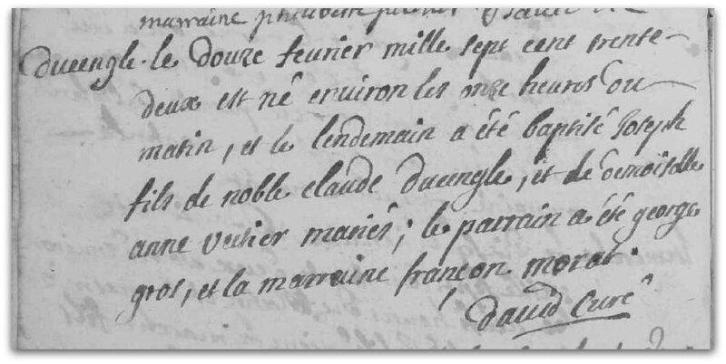 baptême 1732 z