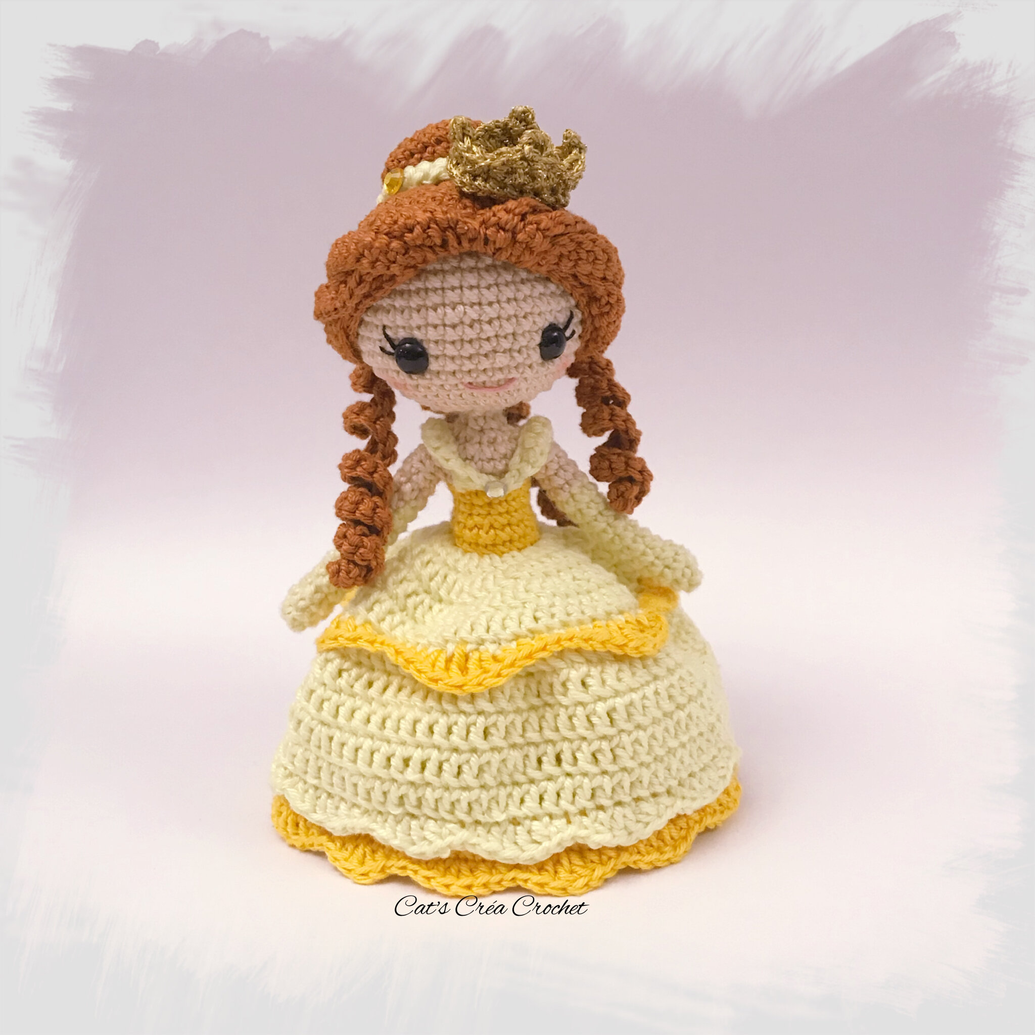 crochet up fille blanche