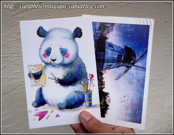 cartes postales juin 2018