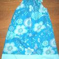robe bain de soleil bleue