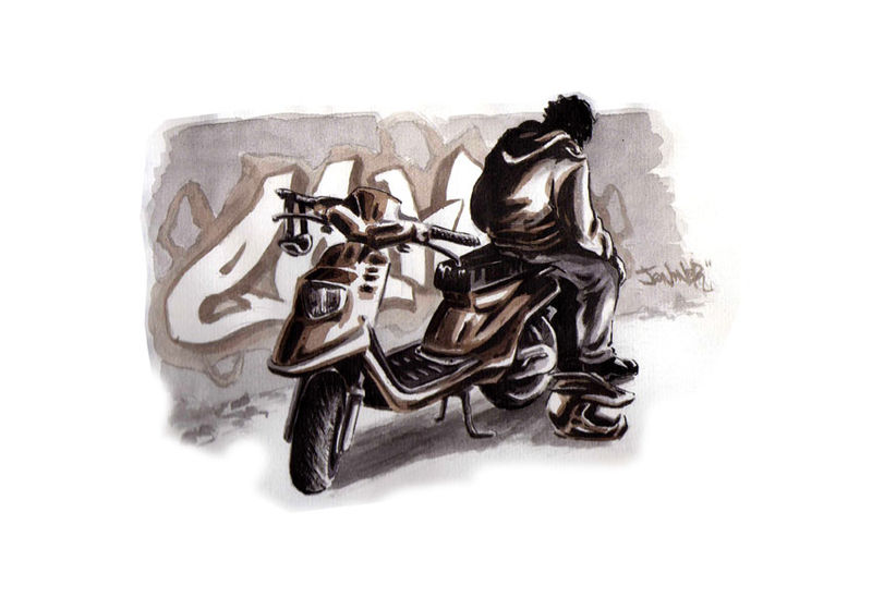 Etienne et son scoot (2009)
