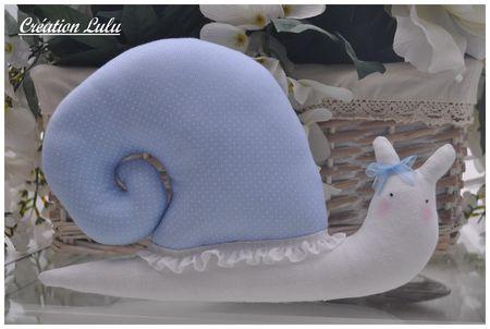 Escargot bleu 1