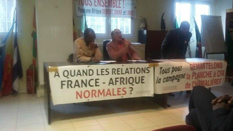 LES DÉMOCRATES ET RÉSISTANTS DE LA DIASPORA DÉNONCENT LA POLITIQUE DE LA FRANCE EN AFRIQUE.
