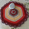 Rentrée, crochet, encours ii ... mandalas au crochet
