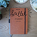 Bullet journal étudiant - back to school 2018-2019