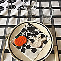 table Halloween