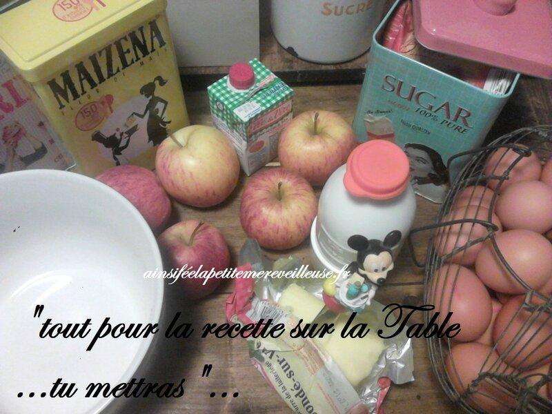 clafoutis pommes 1