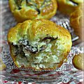 Muffins aux girolles et maroilles