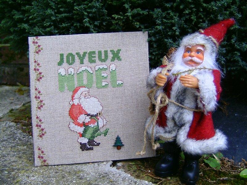 tableautin de Noël envoyé à Axelle