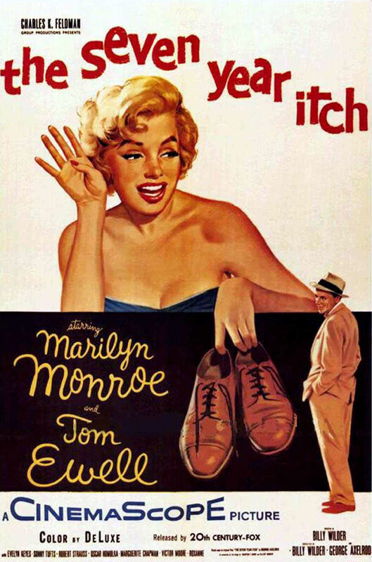 Poster - Seven Year Itch, The_01