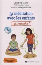 La méditation avec les enfants couv